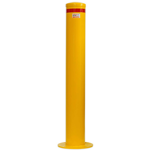 Bollard Disabled parking 165mm Surface Mounted - Yellow